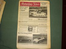 MOTORING NEWS 1975 Mar 27 Mugello Gp6, Hackle Rally, Firestone Rally, Derek Bennett